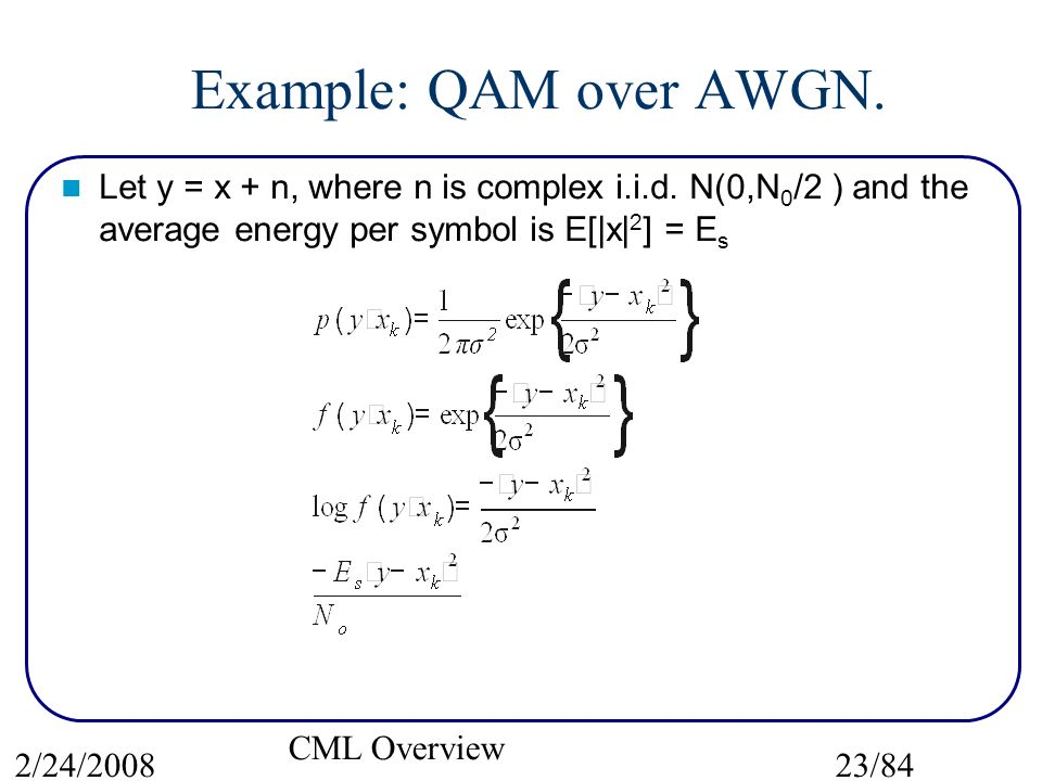 A Guided Tour Of Cml The Coded Modulation Library Ppt Download